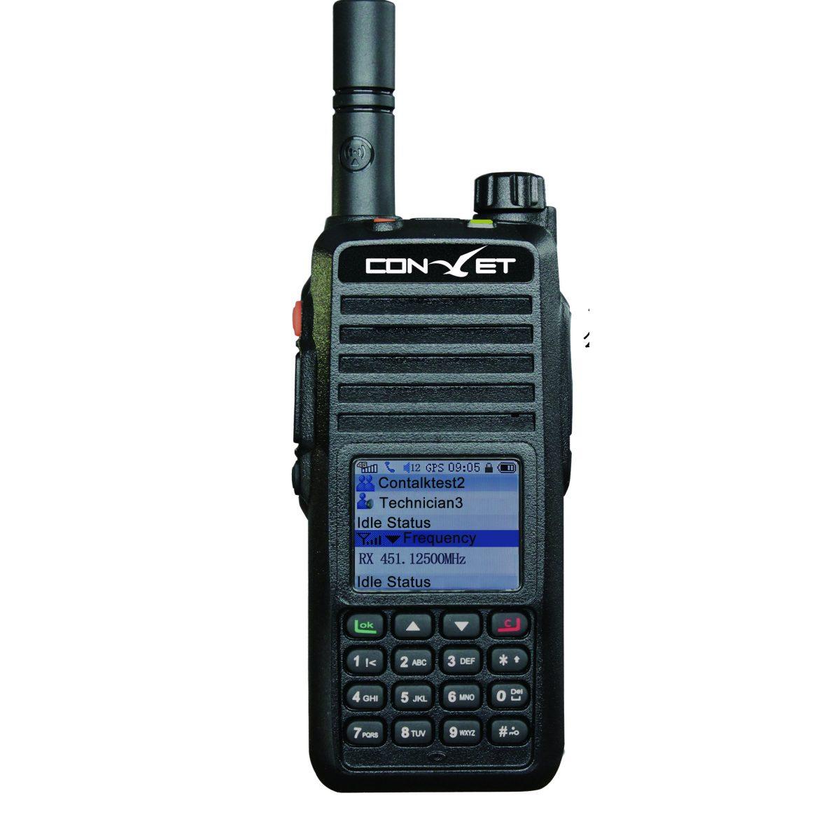 Poc radio, 4G LTE radio, POC and analog dual mode